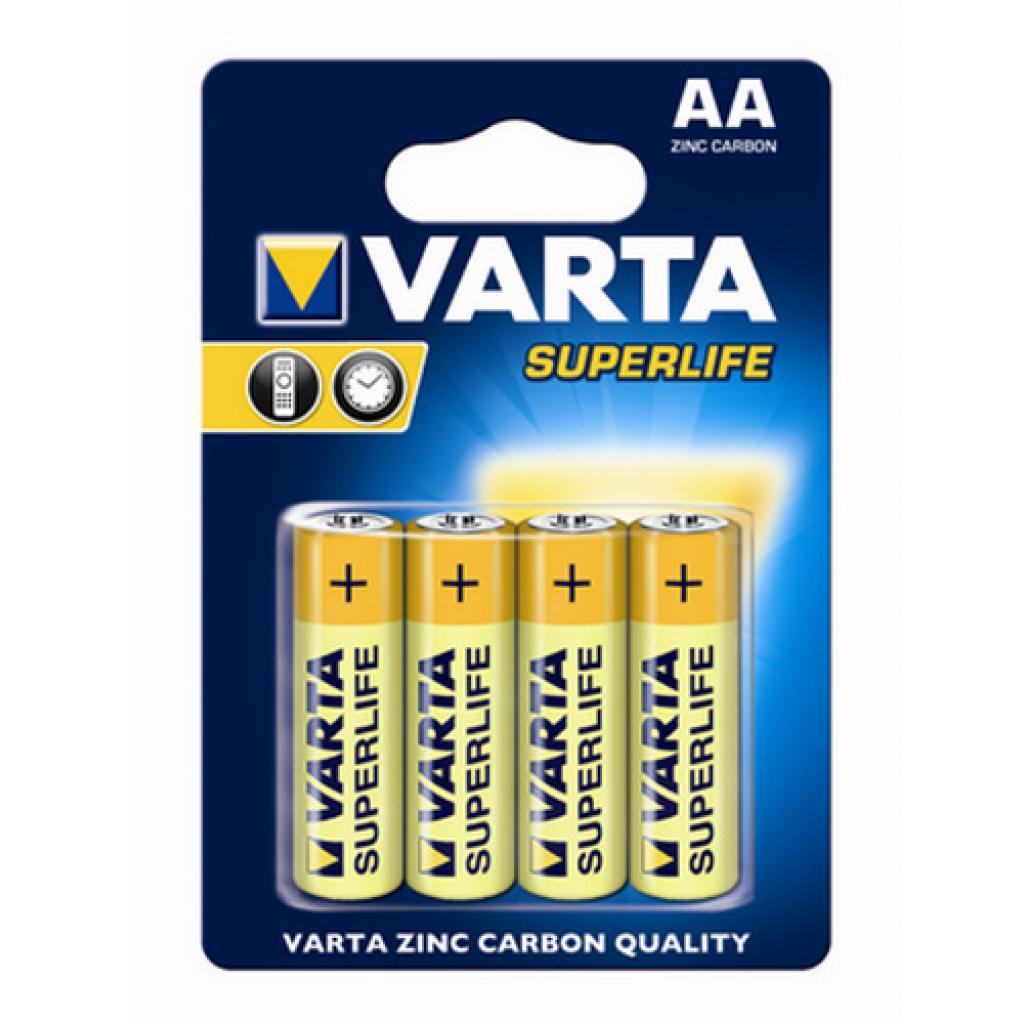 Батарейка Varta SUPERLIFE ZINC-CARBON * 4 fol (2006101304)