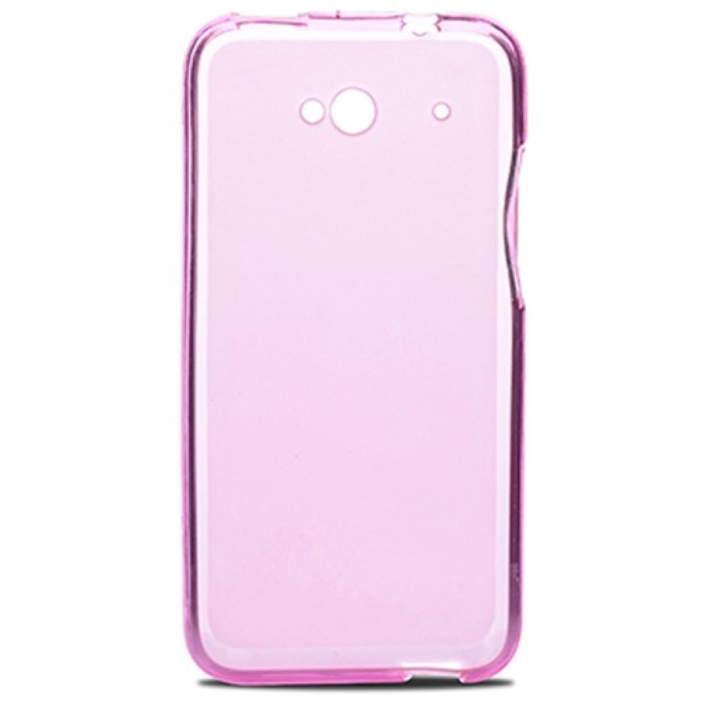 Чехол для моб. телефона для HTC Desire 601 (Pink Clear) Elastic PU Drobak (218880) изображение 2