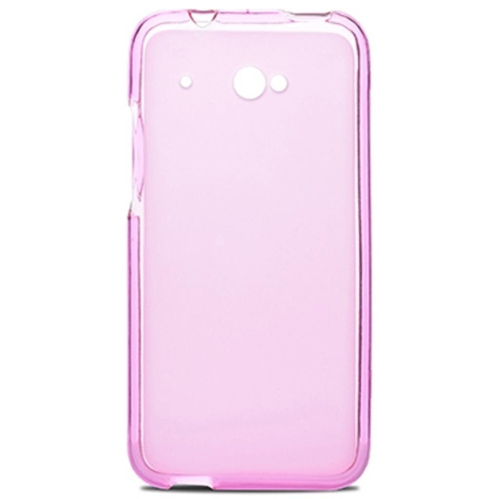 Чехол для моб. телефона для HTC Desire 601 (Pink Clear) Elastic PU Drobak (218880)