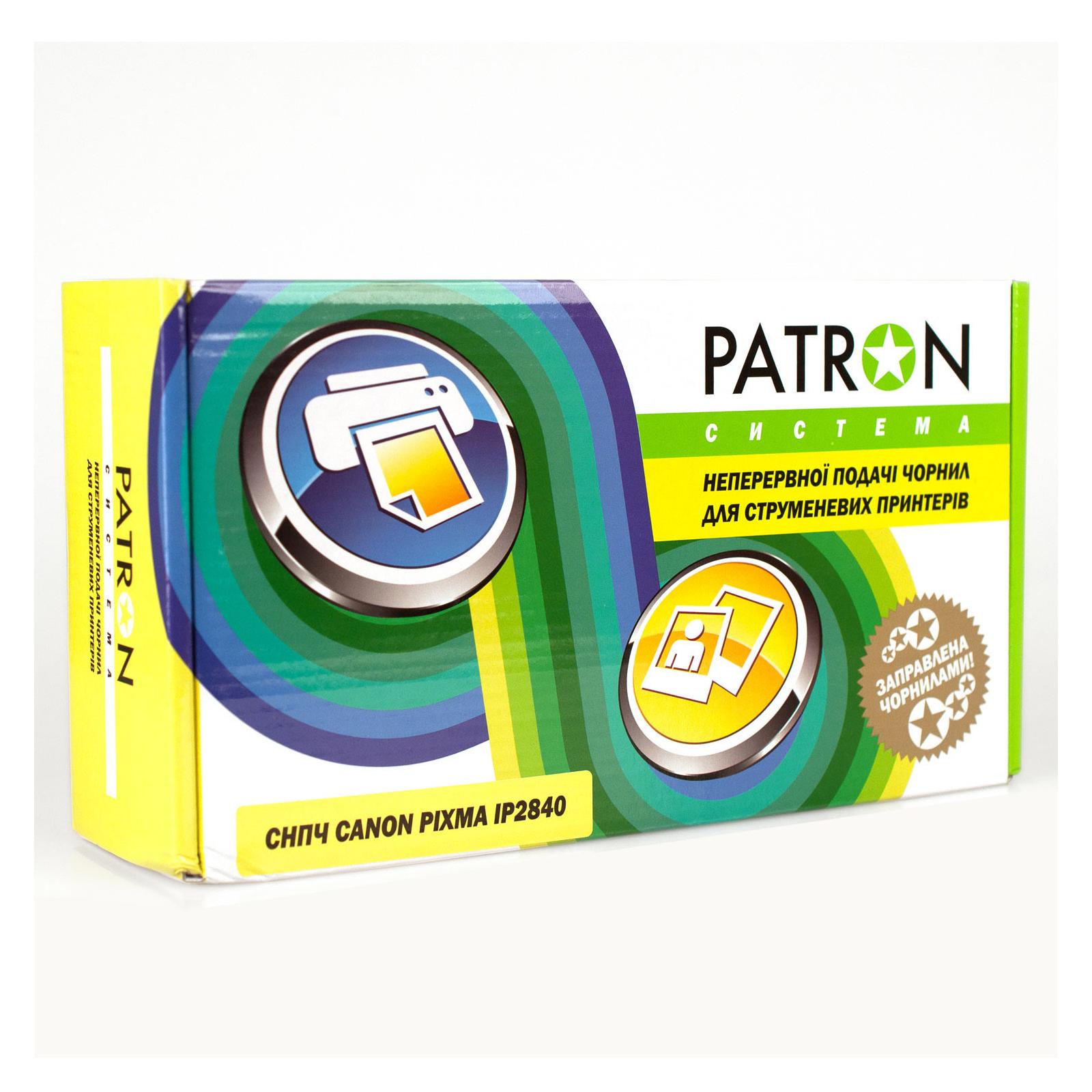 СНПЧ PATRON CANON IP2840 (чрн 4*60мл) (CISS-PN-C-CAN-IP2840)