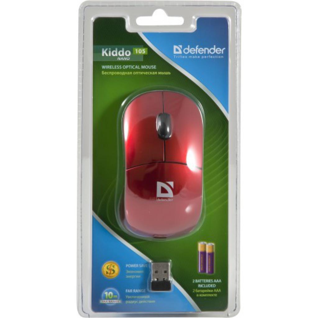 Мышка Defender Kiddo 105 Nano (52847) изображение 4
