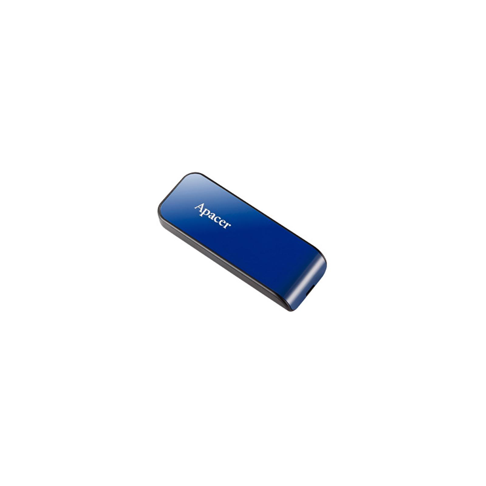 USB флеш накопитель Apacer 16GB AH334 pink USB 2.0 (AP16GAH334P-1) изображение 2
