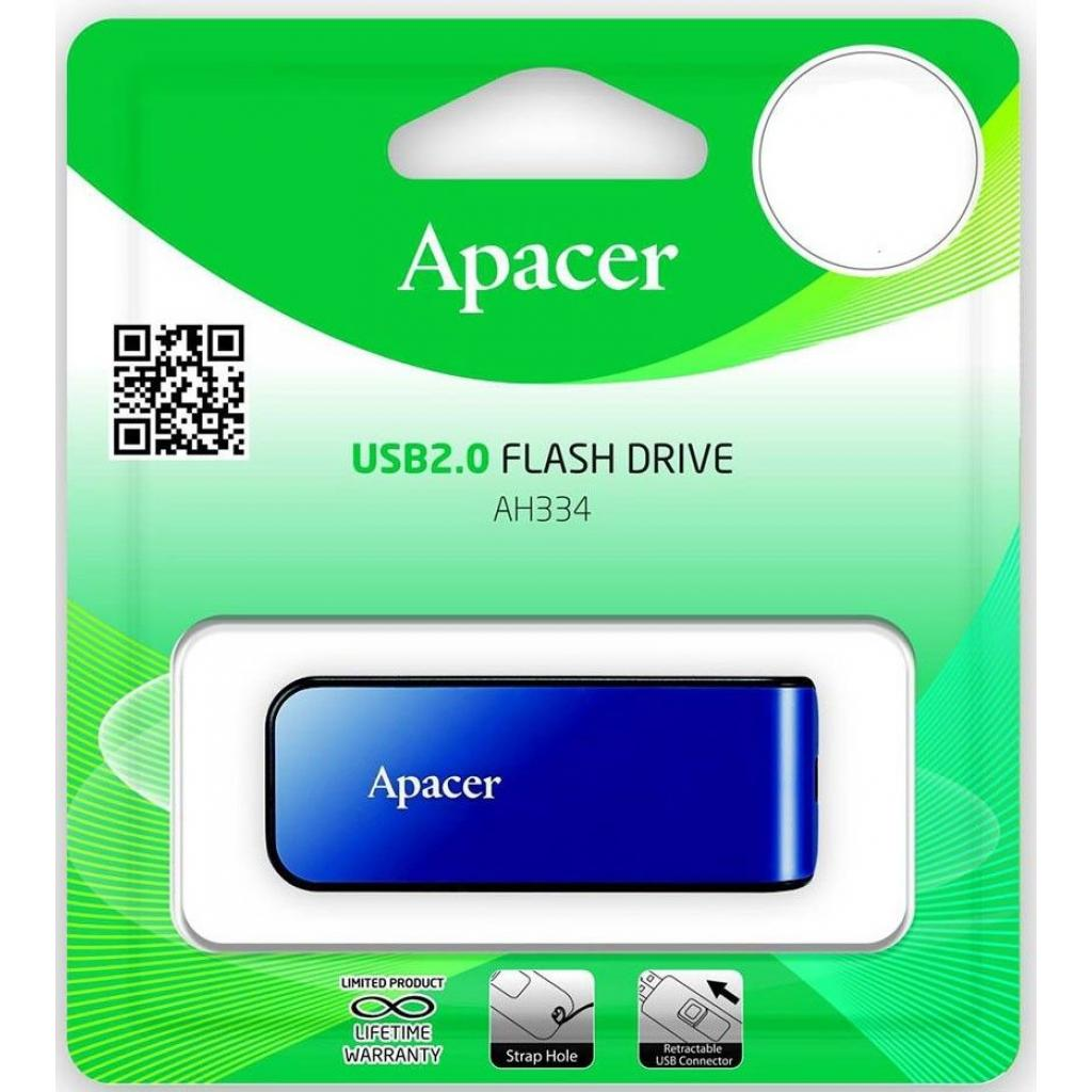 USB флеш накопитель Apacer 16GB AH334 pink USB 2.0 (AP16GAH334P-1) изображение 6
