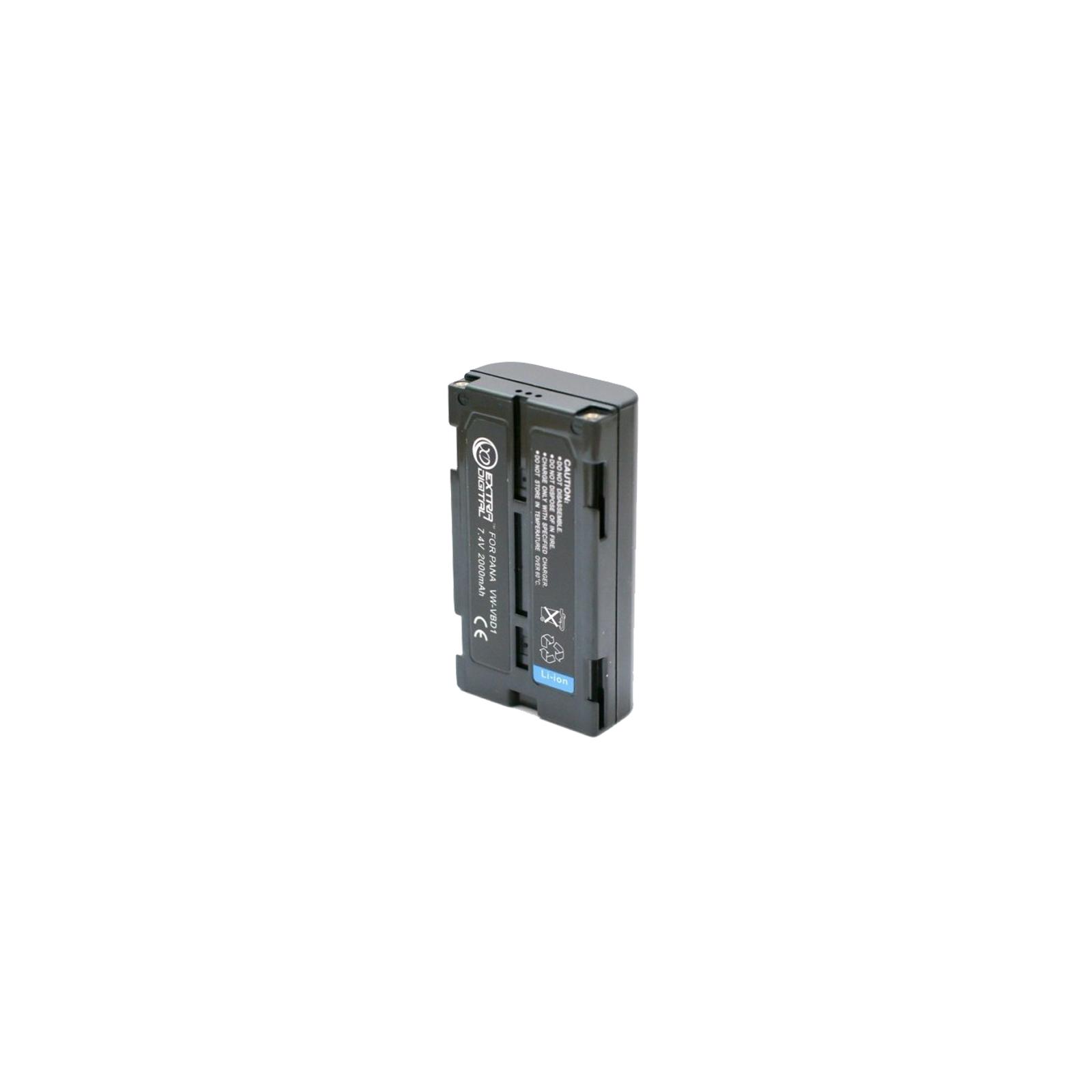 Аккумулятор к фото/видео EXTRADIGITAL Panasonic VW-VBD1, BN-V812 (DV00DV1324) изображение 2