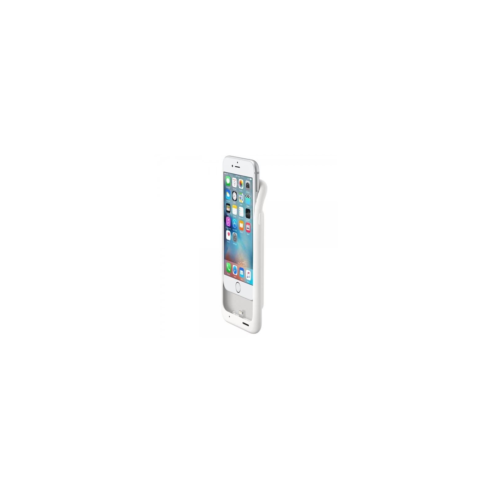 Чехол для моб. телефона Apple Smart Battery Case для iPhone 6/6s White (MGQM2ZM/A) изображение 5