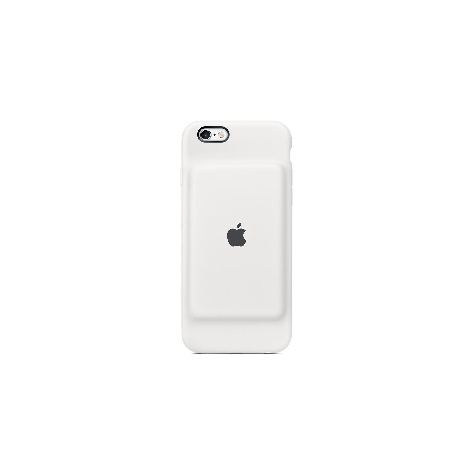 Чехол для моб. телефона Apple Smart Battery Case для iPhone 6/6s White (MGQM2ZM/A)