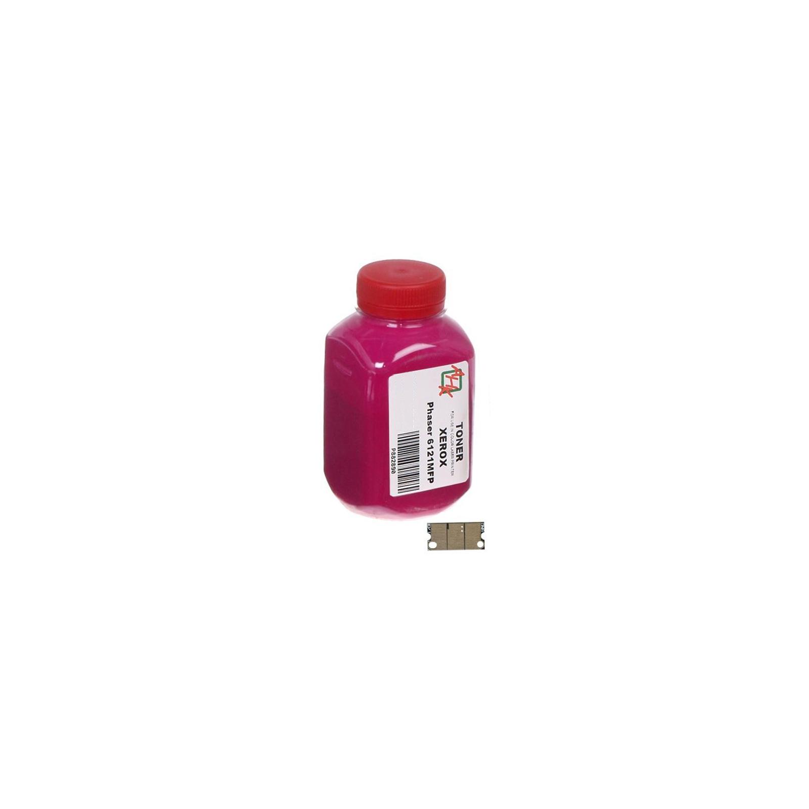 Тонер XEROX Phaser 6121MFP Cyan (+ чип ) АНК (1502685)