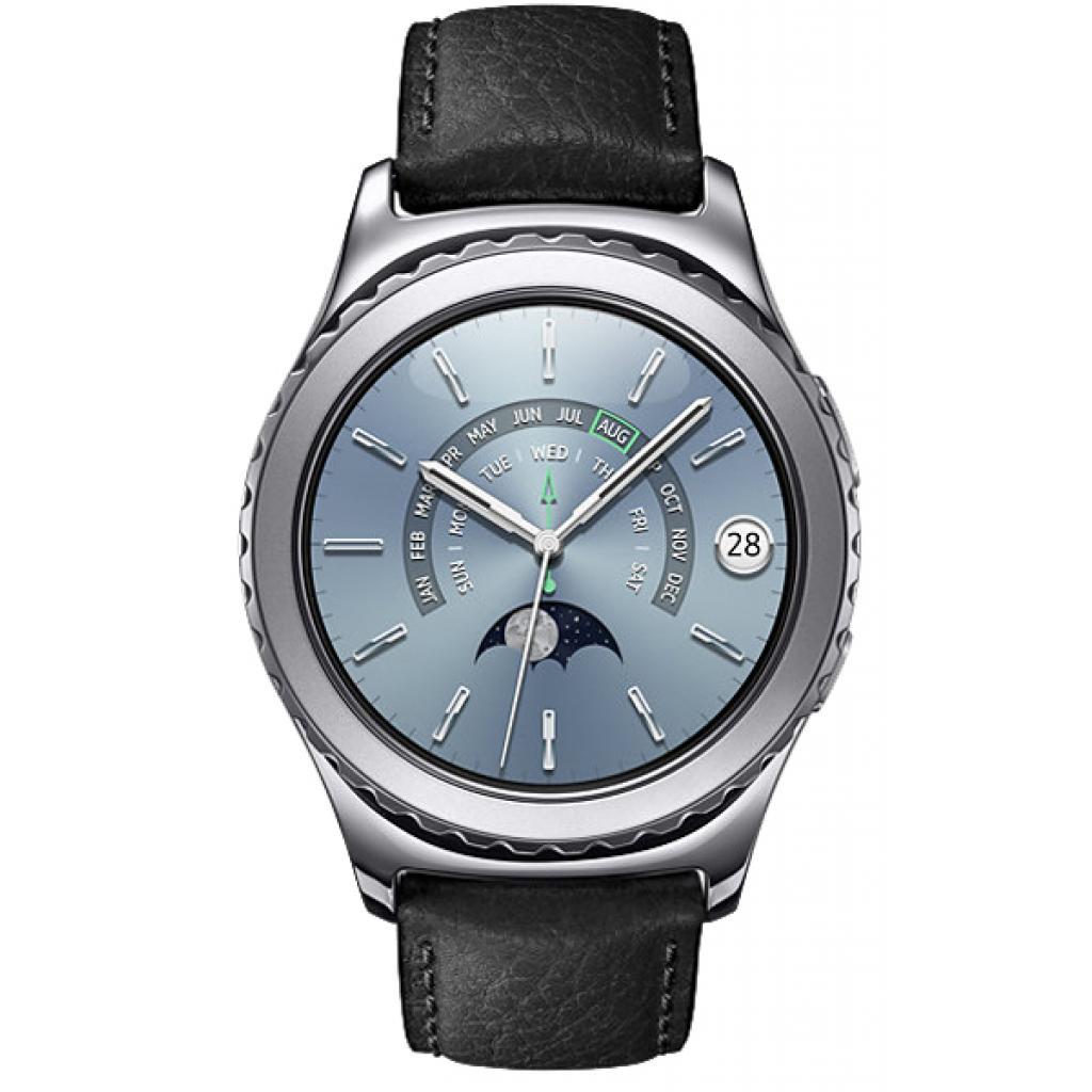 Смарт-часы Samsung SM-R7320 (Gear S2 Classic Premium Edition) Platinum (SM-R7320WDASEK) изображение 2