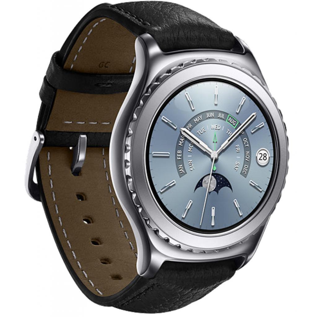 Смарт-часы Samsung SM-R7320 (Gear S2 Classic Premium Edition) Platinum (SM-R7320WDASEK) изображение 3