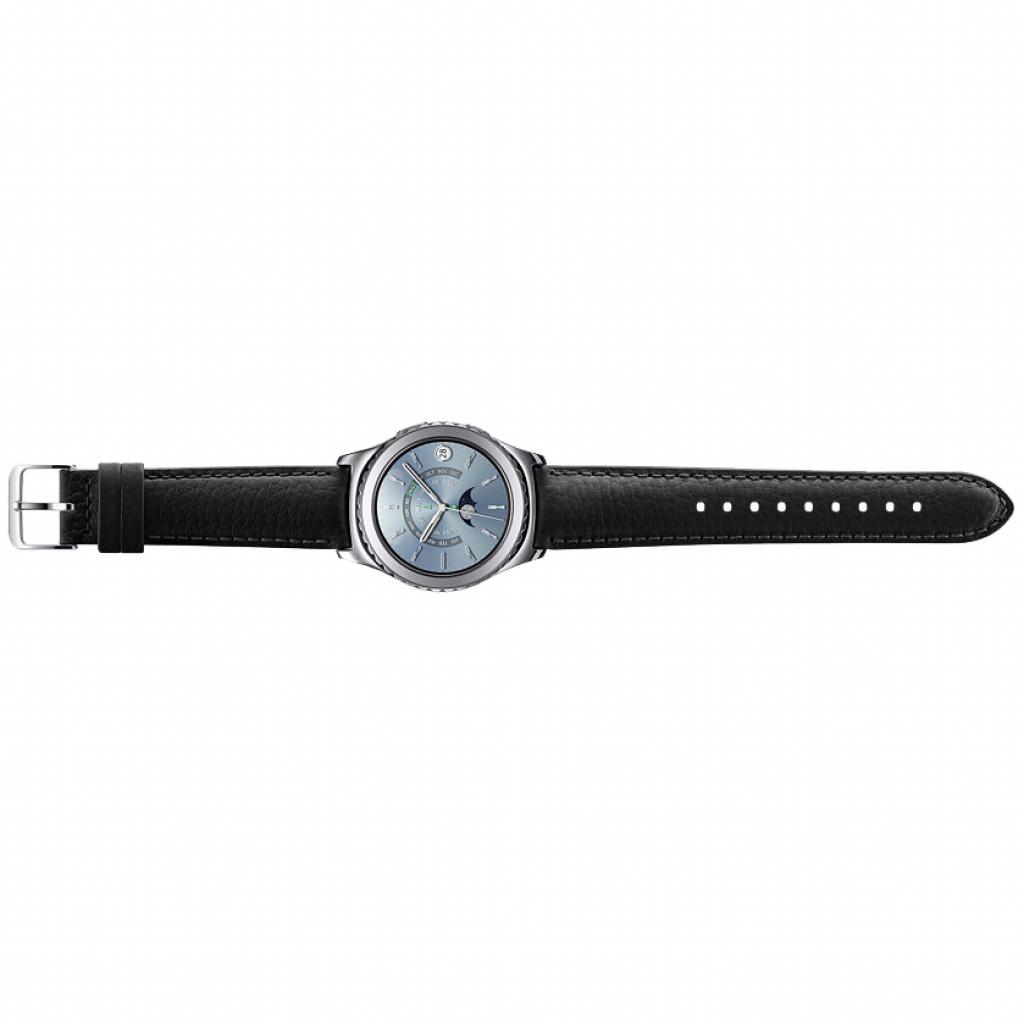 Смарт-часы Samsung SM-R7320 (Gear S2 Classic Premium Edition) Platinum (SM-R7320WDASEK) изображение 4