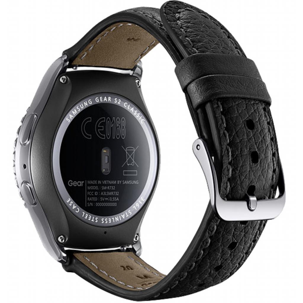 Смарт-часы Samsung SM-R7320 (Gear S2 Classic Premium Edition) Platinum (SM-R7320WDASEK) изображение 5