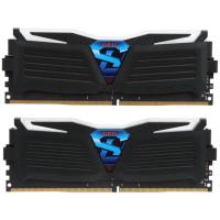 Модуль памяти для компьютера DDR4 16GB (2x8GB) 2400 MHz Super Luce Black GEIL (GLW416GB2400C16DC)
