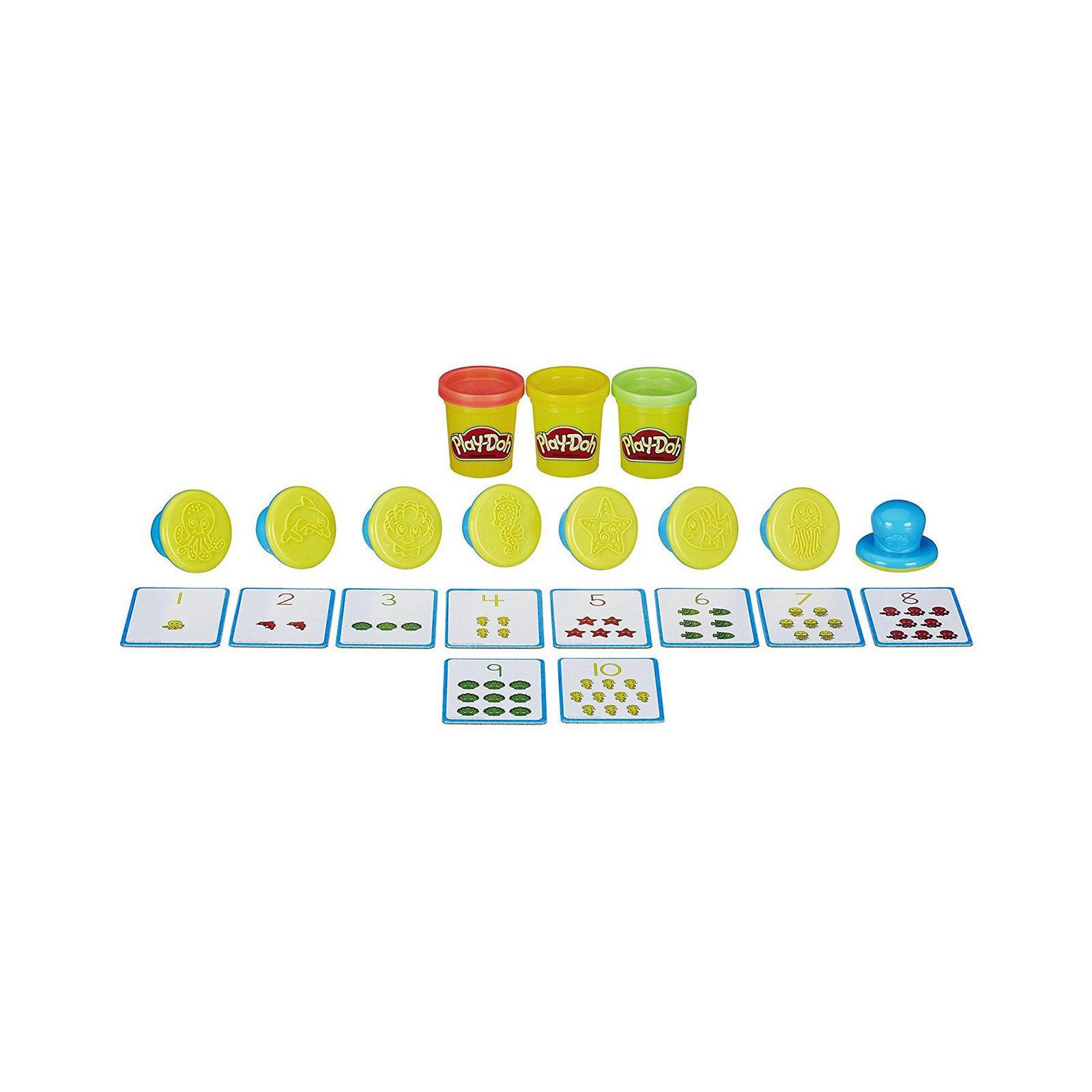 Набор для творчества Hasbro Play-Doh Цифры и числа (B3406) изображение 2