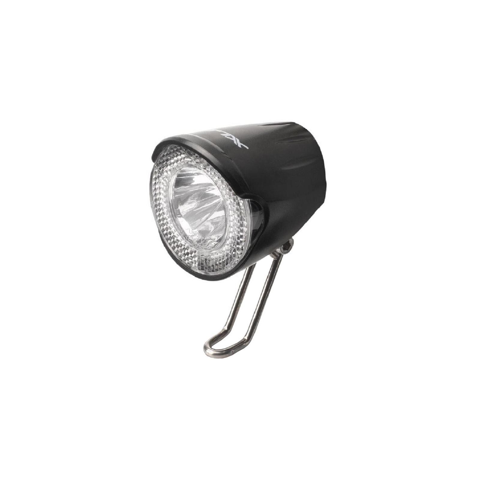 Передняя велофара XLC LED 20Lux, черный (2500220600)