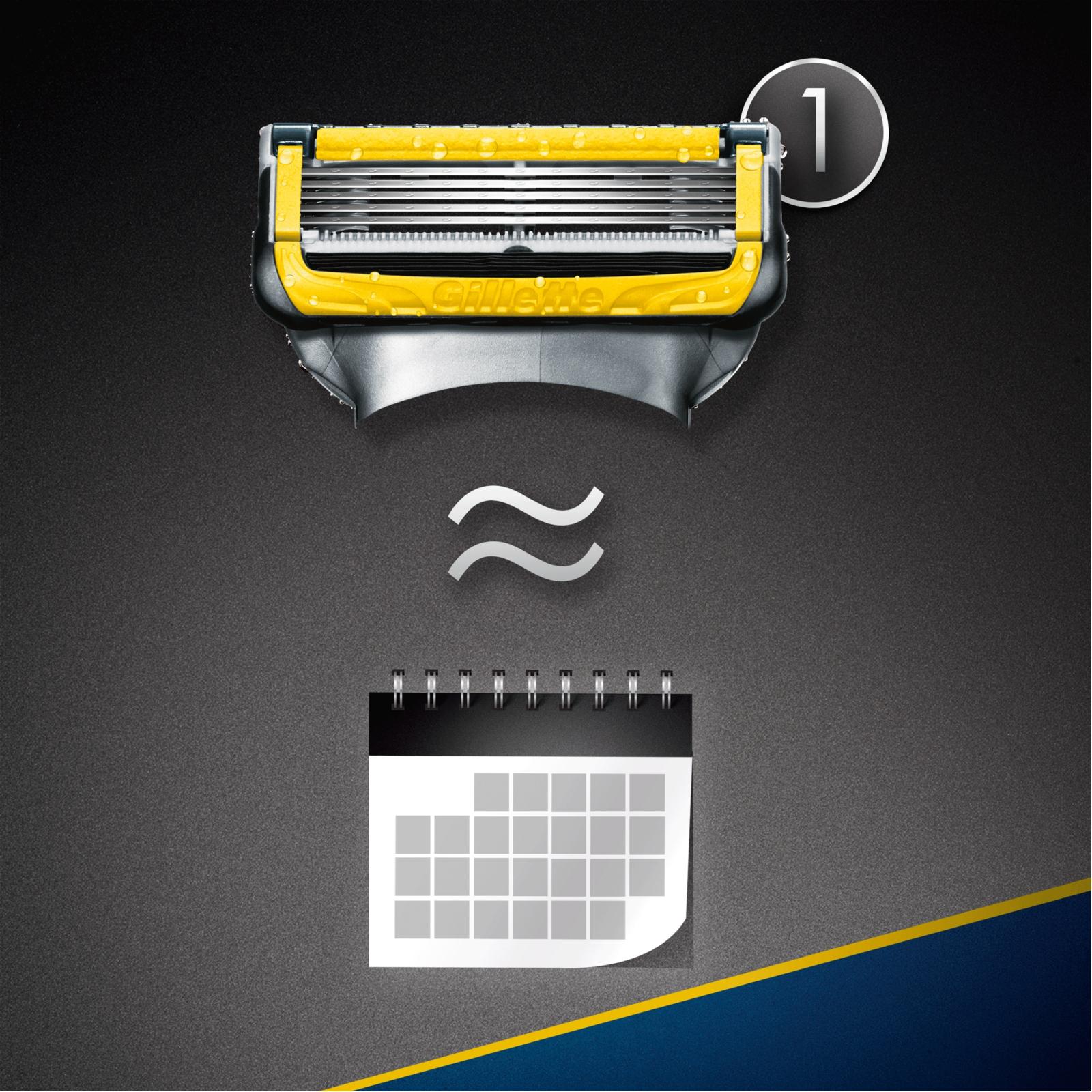 Сменные кассеты Gillette Fusion ProShield 4 шт (7702018412488) изображение 9