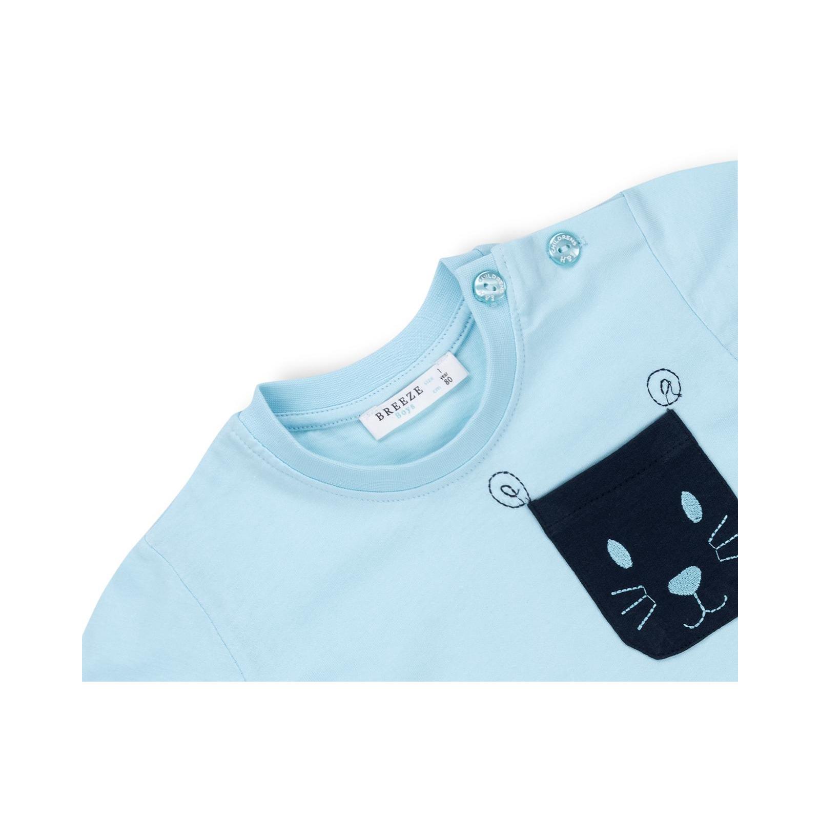 Набор детской одежды Breeze с карманчиками (10234-86G-blue) изображение 7