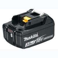 Аккумулятор к электроинструменту Makita LXT BL1830B (Li-Ion, 18В, 3Ач, индикация заряда) (632G12-3)