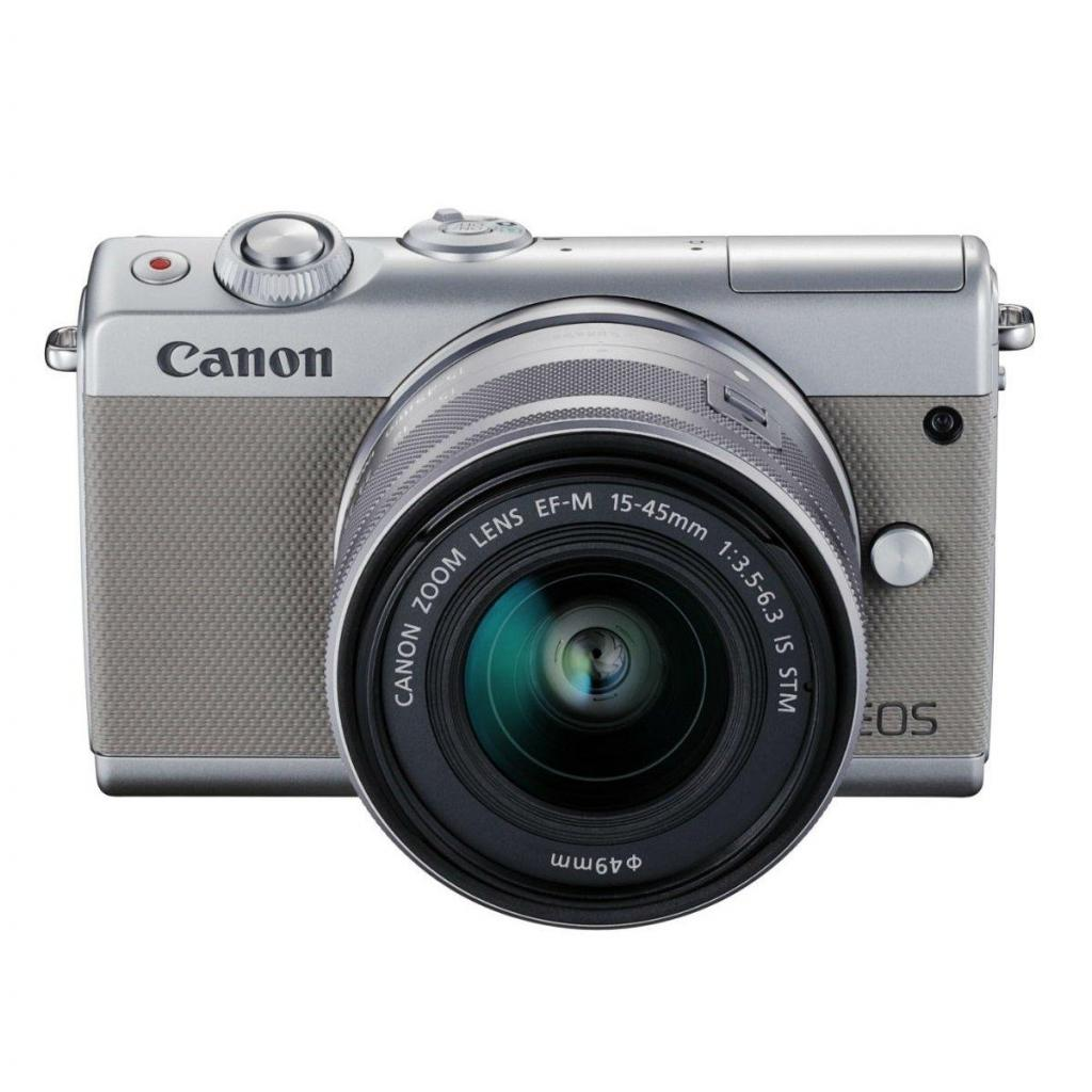 Цифровой фотоаппарат Canon EOS M100 15-45 IS STM Kit Grey (2211C044) изображение 10