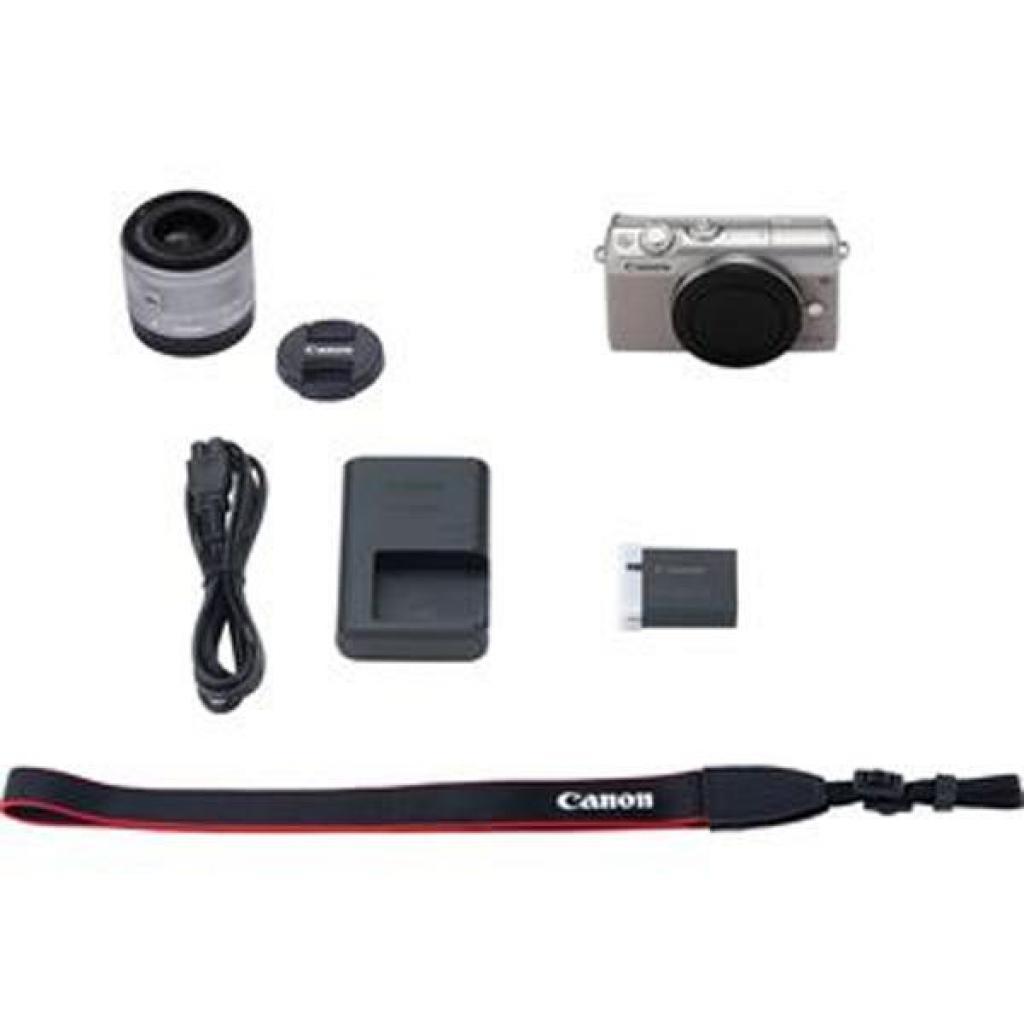 Цифровой фотоаппарат Canon EOS M100 15-45 IS STM Kit Grey (2211C044) изображение 11
