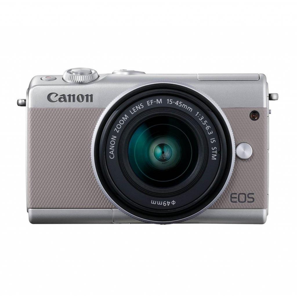 Цифровой фотоаппарат Canon EOS M100 15-45 IS STM Kit Grey (2211C044) изображение 2