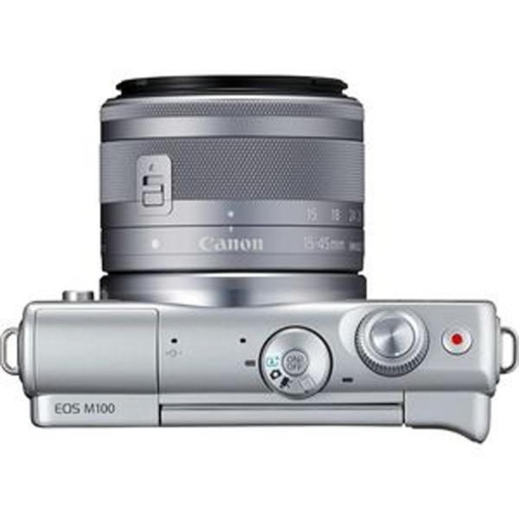 Цифровой фотоаппарат Canon EOS M100 15-45 IS STM Kit Grey (2211C044) изображение 4