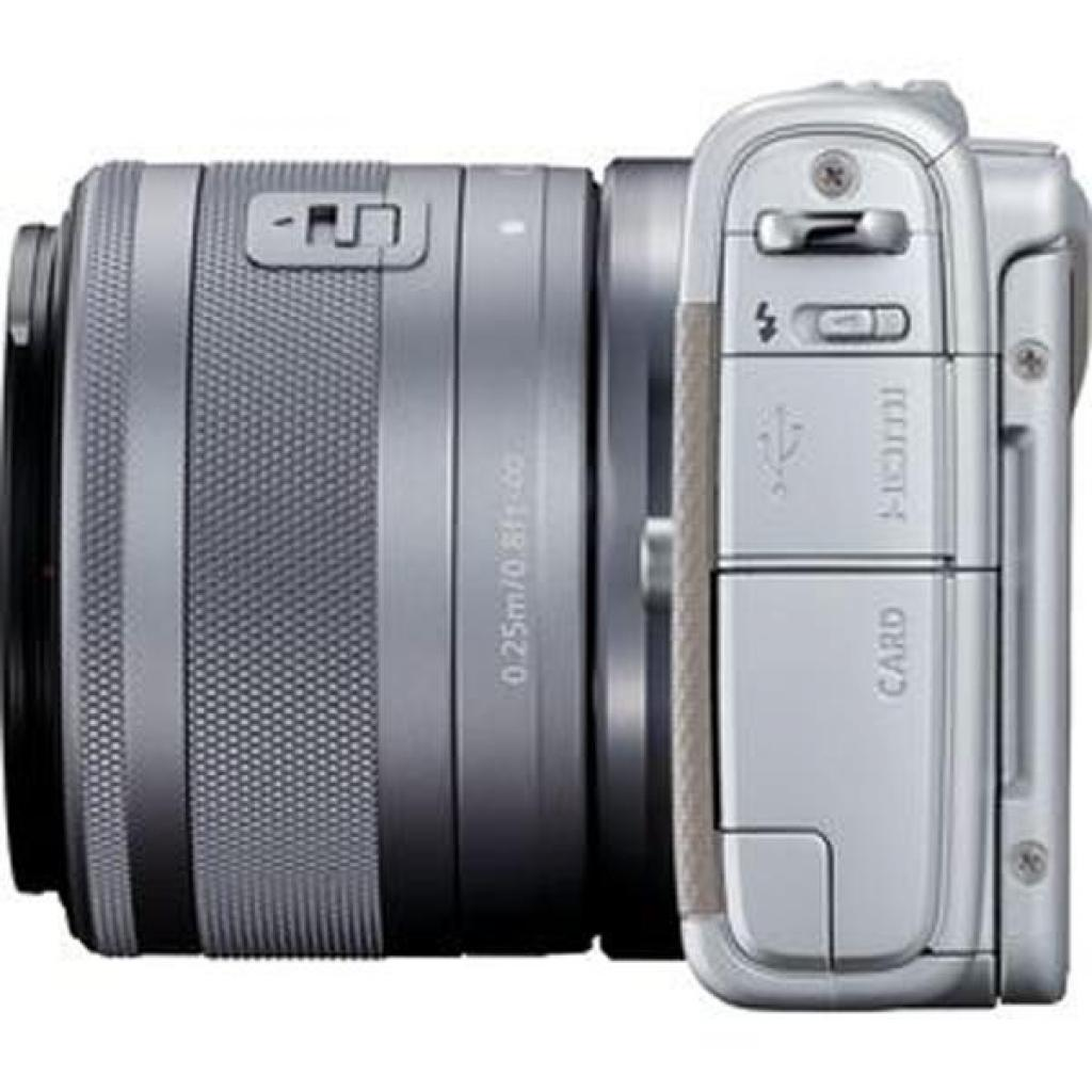 Цифровой фотоаппарат Canon EOS M100 15-45 IS STM Kit Grey (2211C044) изображение 6