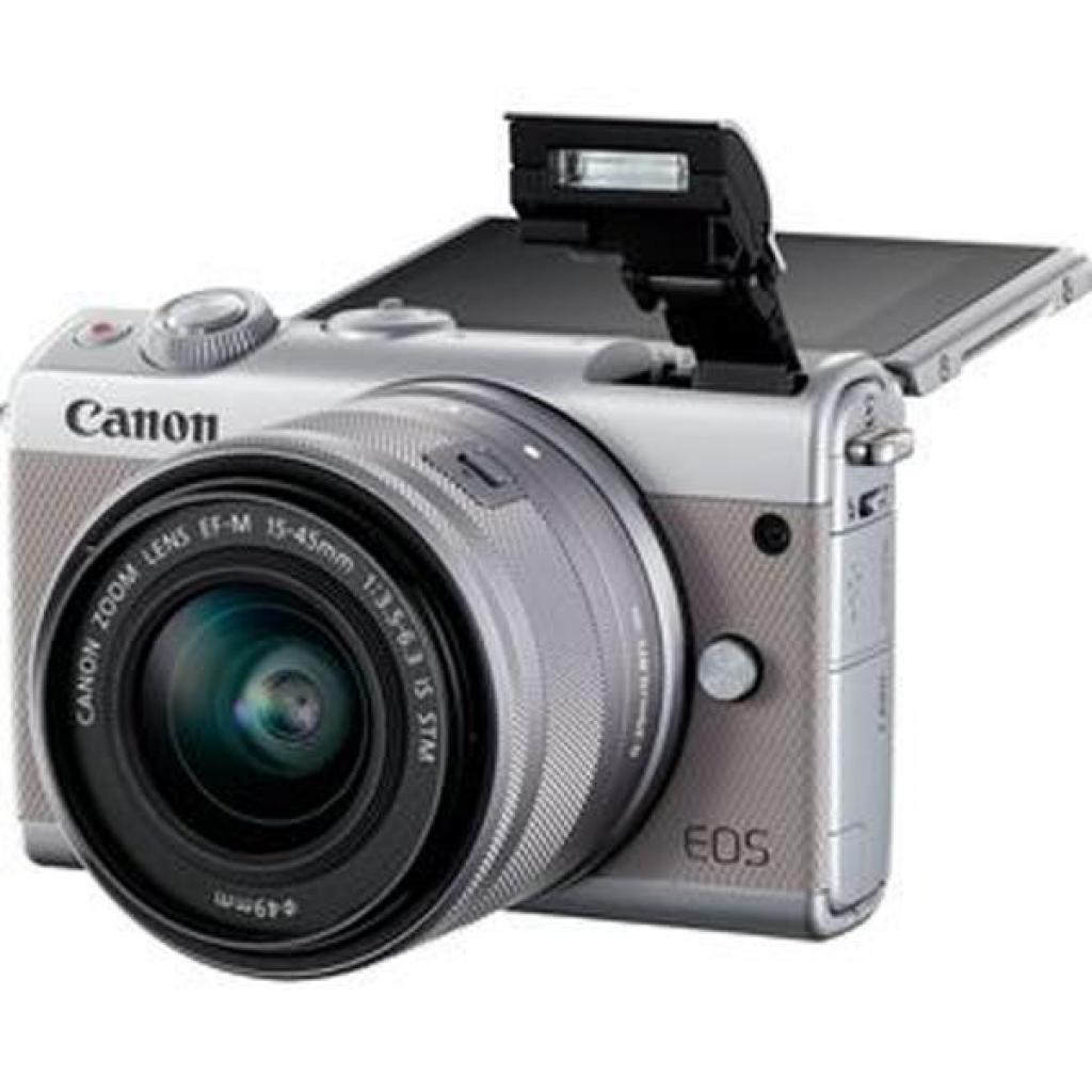 Цифровой фотоаппарат Canon EOS M100 15-45 IS STM Kit Grey (2211C044) изображение 7
