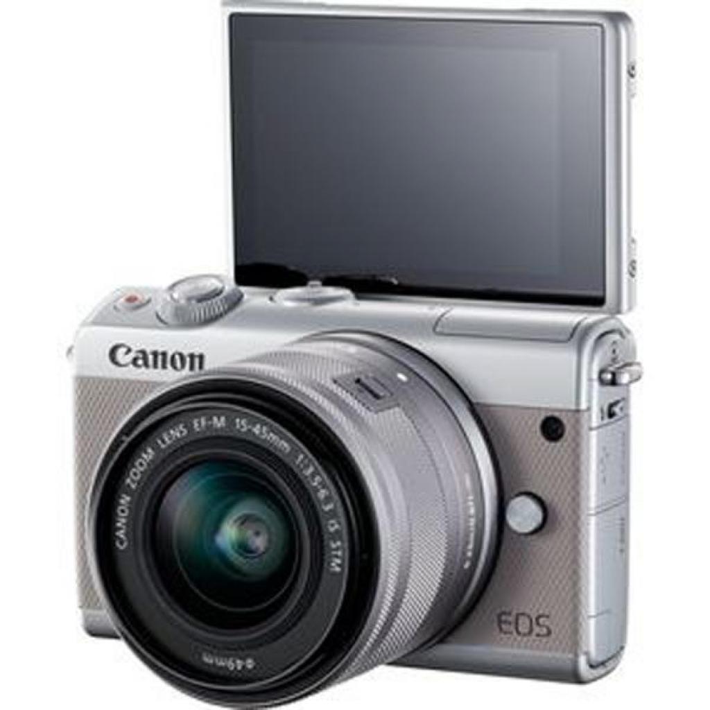 Цифровой фотоаппарат Canon EOS M100 15-45 IS STM Kit Grey (2211C044) изображение 8