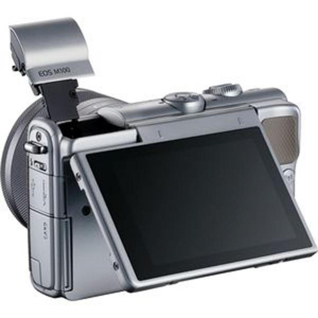 Цифровой фотоаппарат Canon EOS M100 15-45 IS STM Kit Grey (2211C044) изображение 9