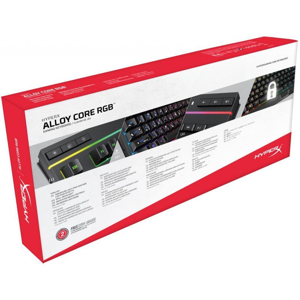 Клавіатура HyperX Alloy Core RGB (HX-KB5ME2-RU) зображення 5