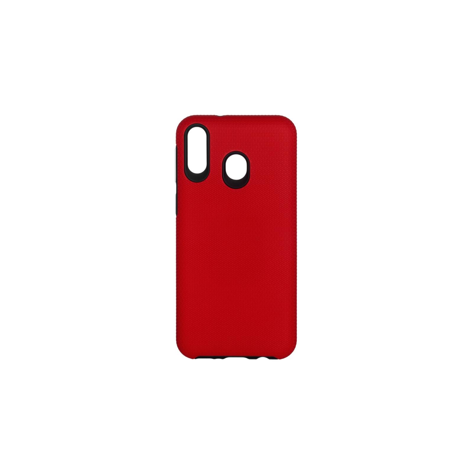 Чохол до моб. телефона 2E Samsung Galaxy M20 (M205), Triangle, Red (2E-G-M20-TKTLRD)