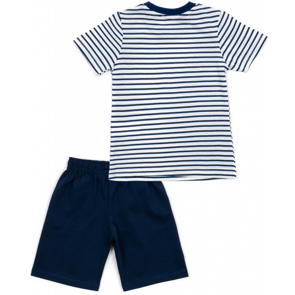 Набор детской одежды Breeze в полоску (15997-98B-blue) изображение 4