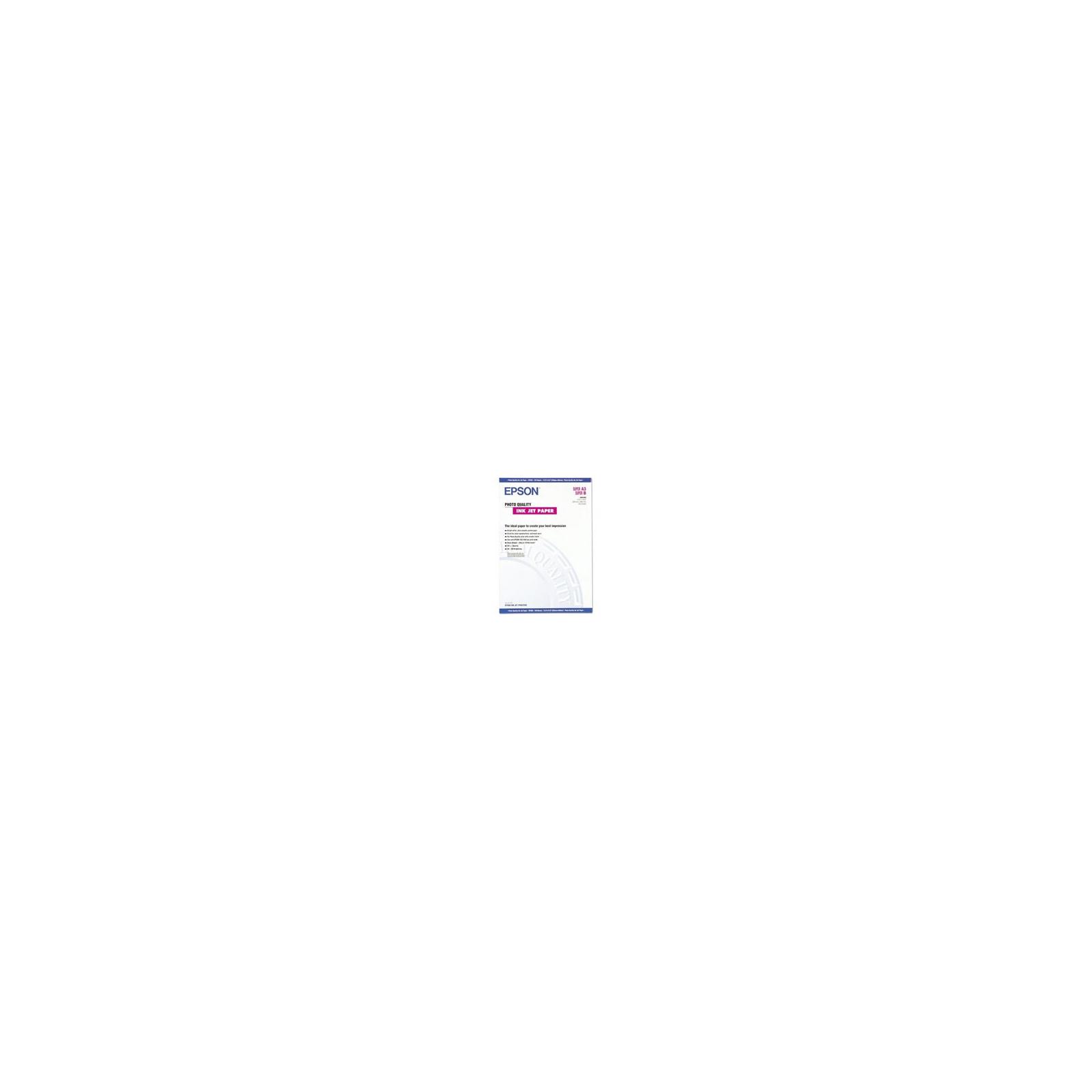 Бумага EPSON A3+ Photo Quality InkJet Paper (C13S041069)