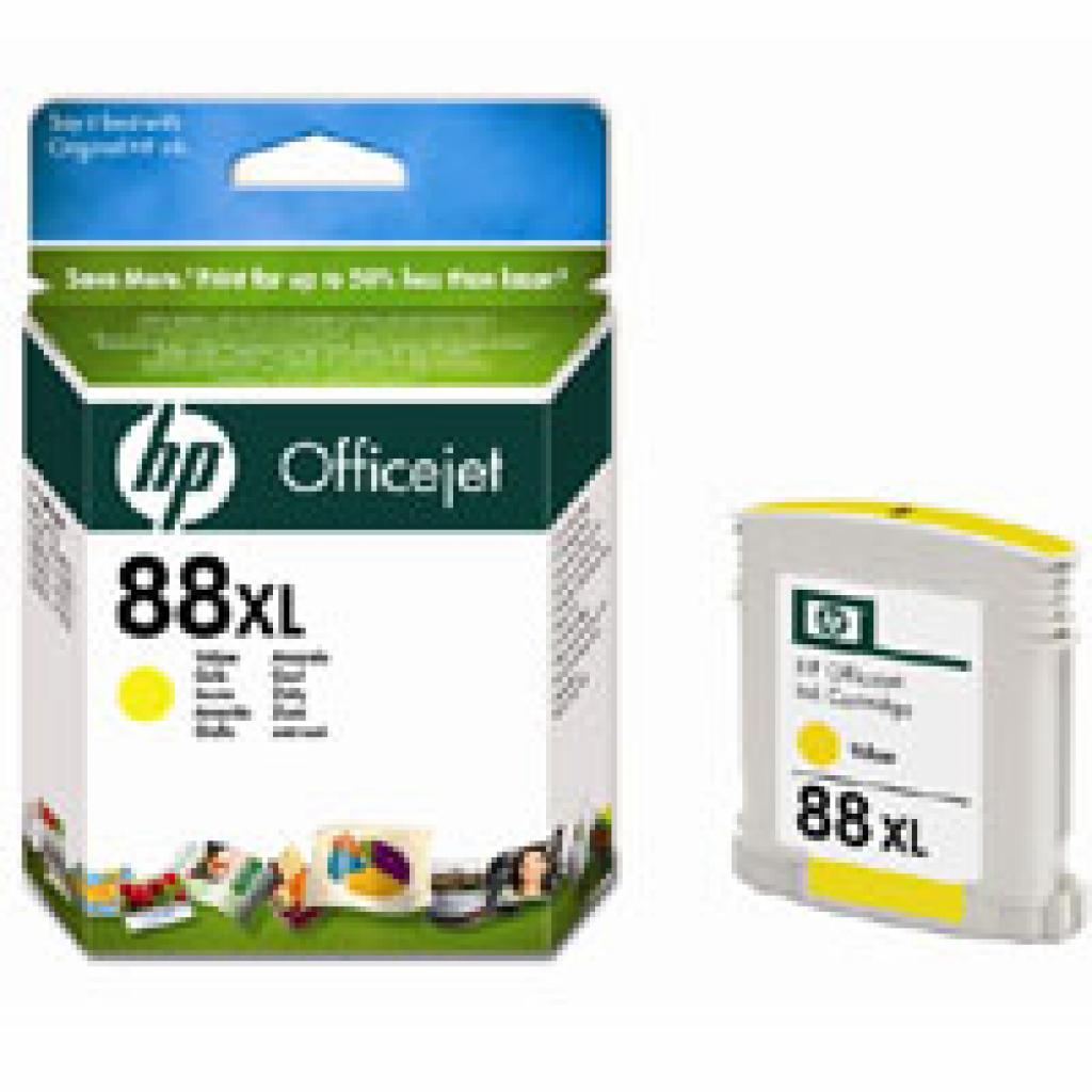 Картридж HP DJ No. 88XL Yellow, OfficejetPro K550/K5400, L7480/7580/7680 (C9393AE)