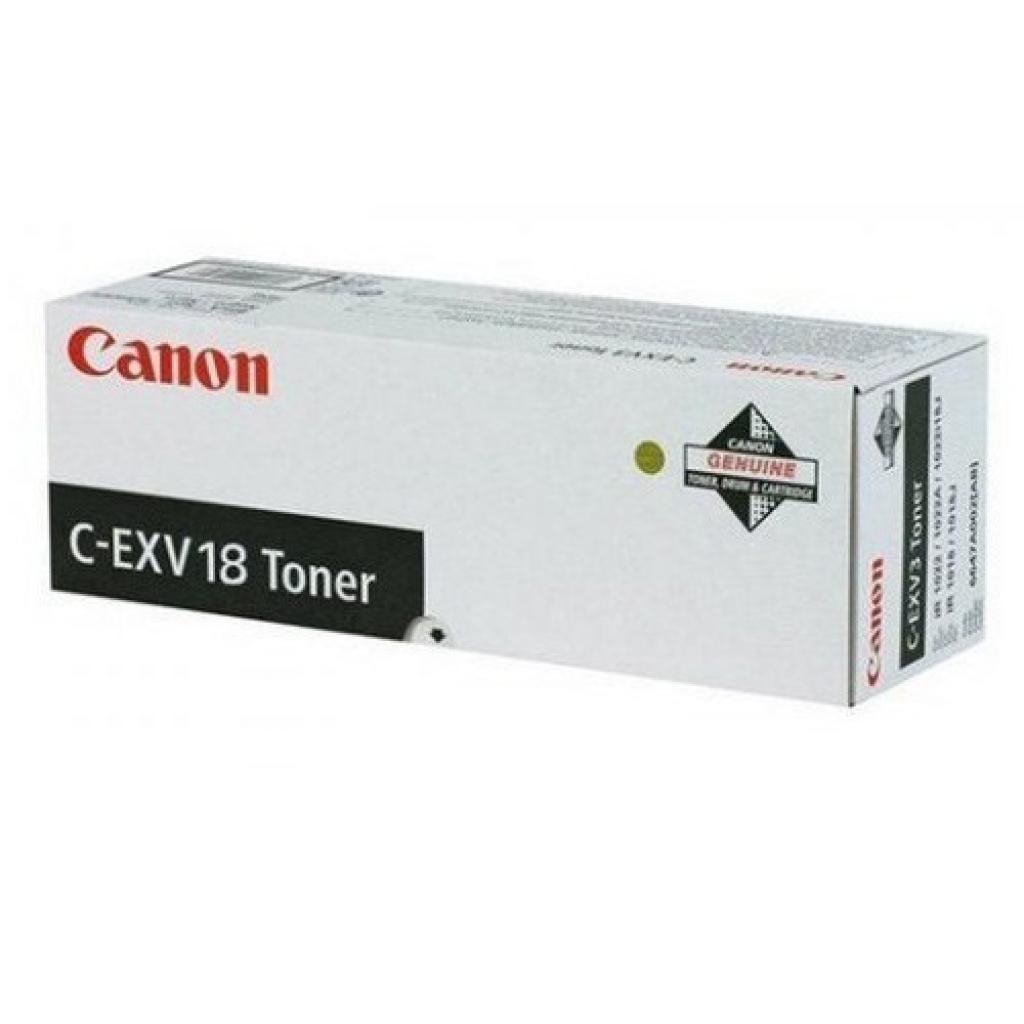 Тонер Integral Canon C-EXV18 iR1018/1022 Black (11500087)
