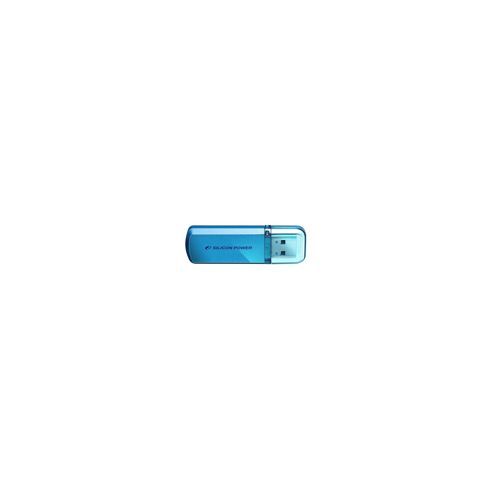 USB флеш накопитель Silicon Power 8Gb Helios 101 blue (SP008GBUF2101V1B)