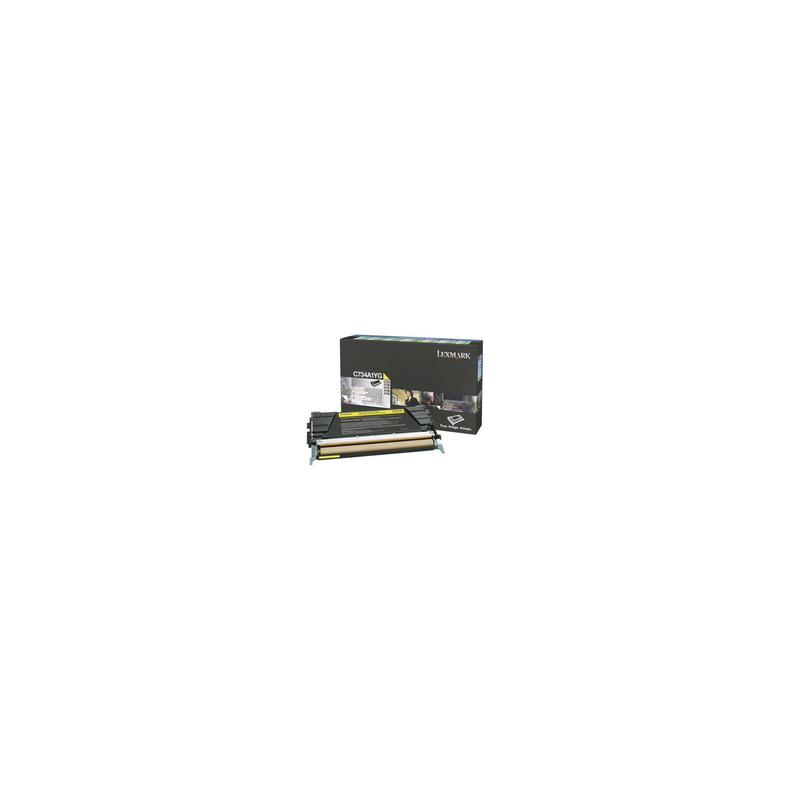 Картридж LEXMARK C73x/X73x Yellow 6k (C734A1YG)