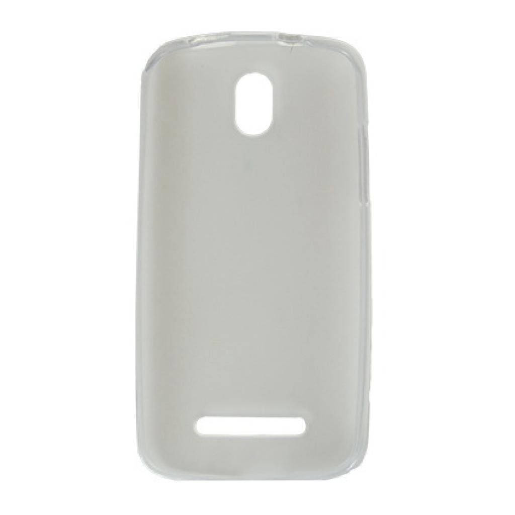 Чехол для моб. телефона Drobak для HTC Desire 500 /Elastic PU/Clear (218845) изображение 2
