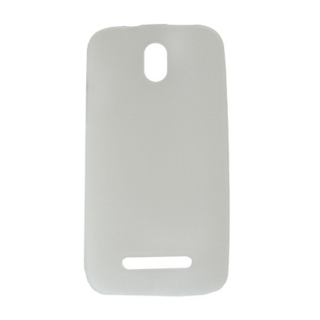 Чехол для моб. телефона Drobak для HTC Desire 500 /Elastic PU/Clear (218845)