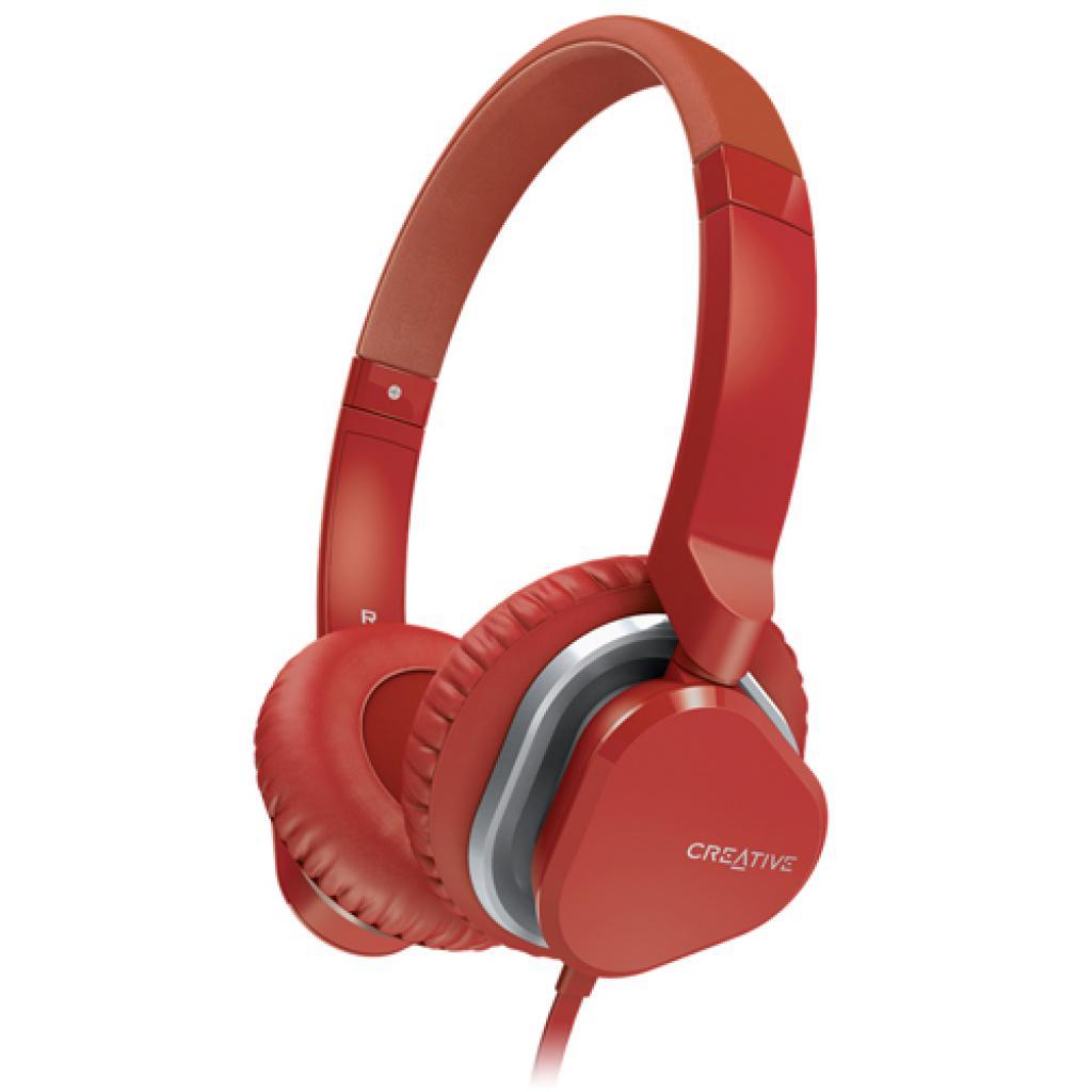 Наушники CREATIVE Hitz MA2400 Red (51EF0640AA006)