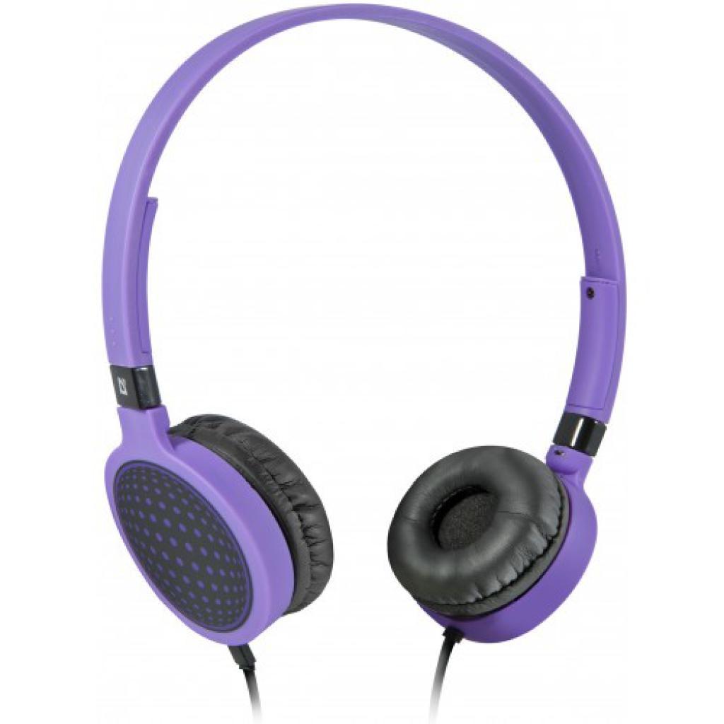 Наушники Defender Accord HN-048 purple (фіолетовий) (63049)