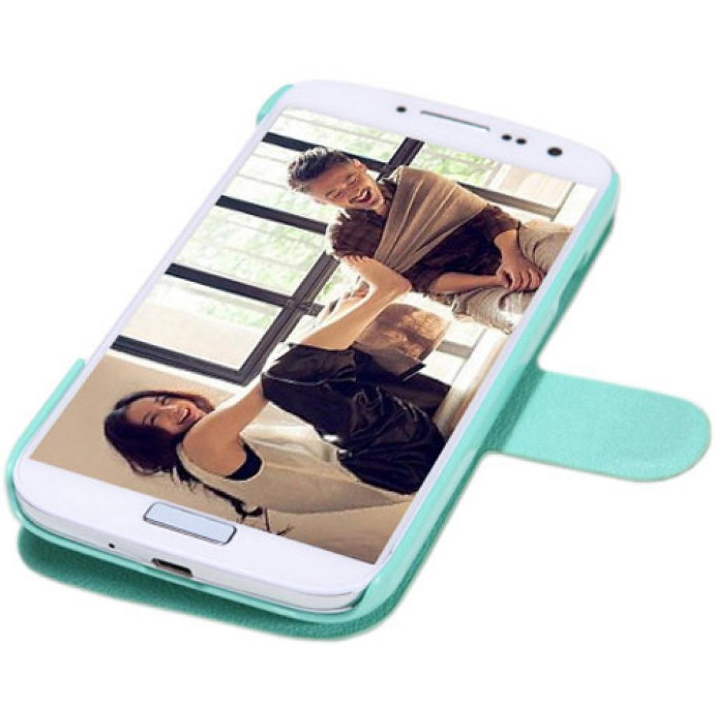Чехол для моб. телефона NILLKIN для Samsung I9500 /Fresh/ Leather/Green (6088753) изображение 3