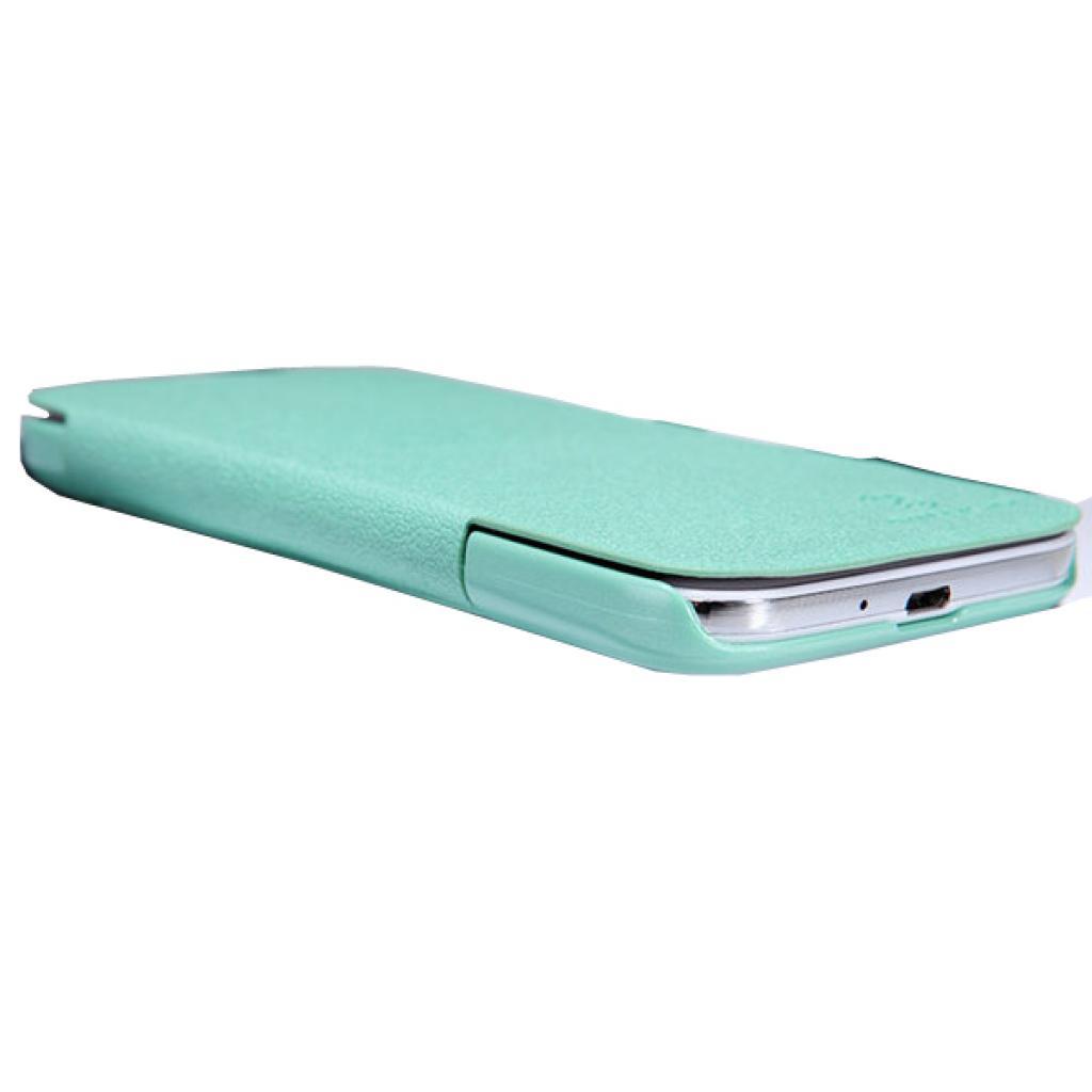 Чехол для моб. телефона NILLKIN для Samsung I9500 /Fresh/ Leather/Green (6088753) изображение 4