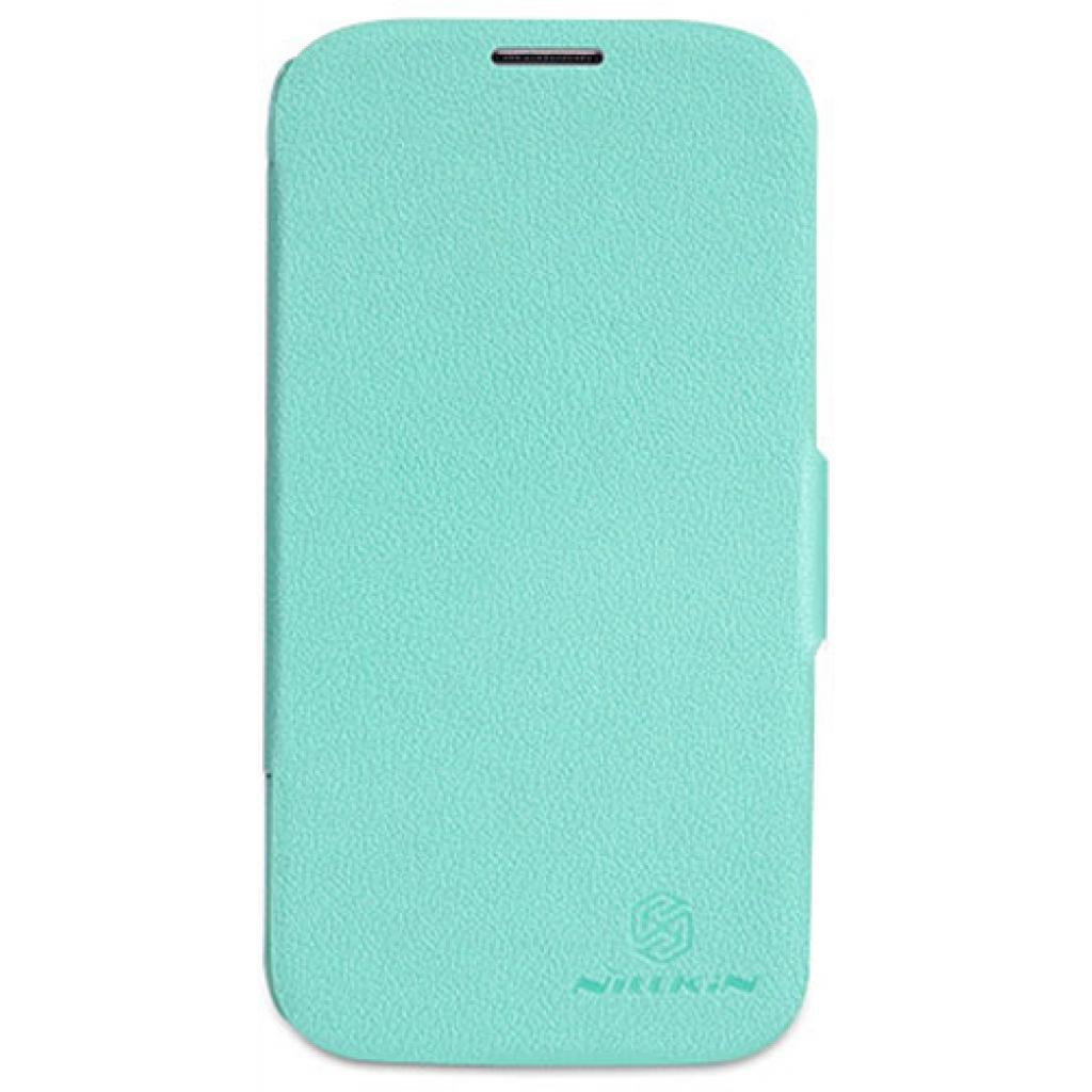 Чехол для моб. телефона NILLKIN для Samsung I9500 /Fresh/ Leather/Green (6088753)