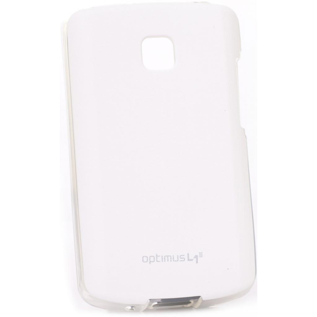 Чехол для моб. телефона VOIA для LG E410 Optimus L1II /Jell skin/White (6093515)