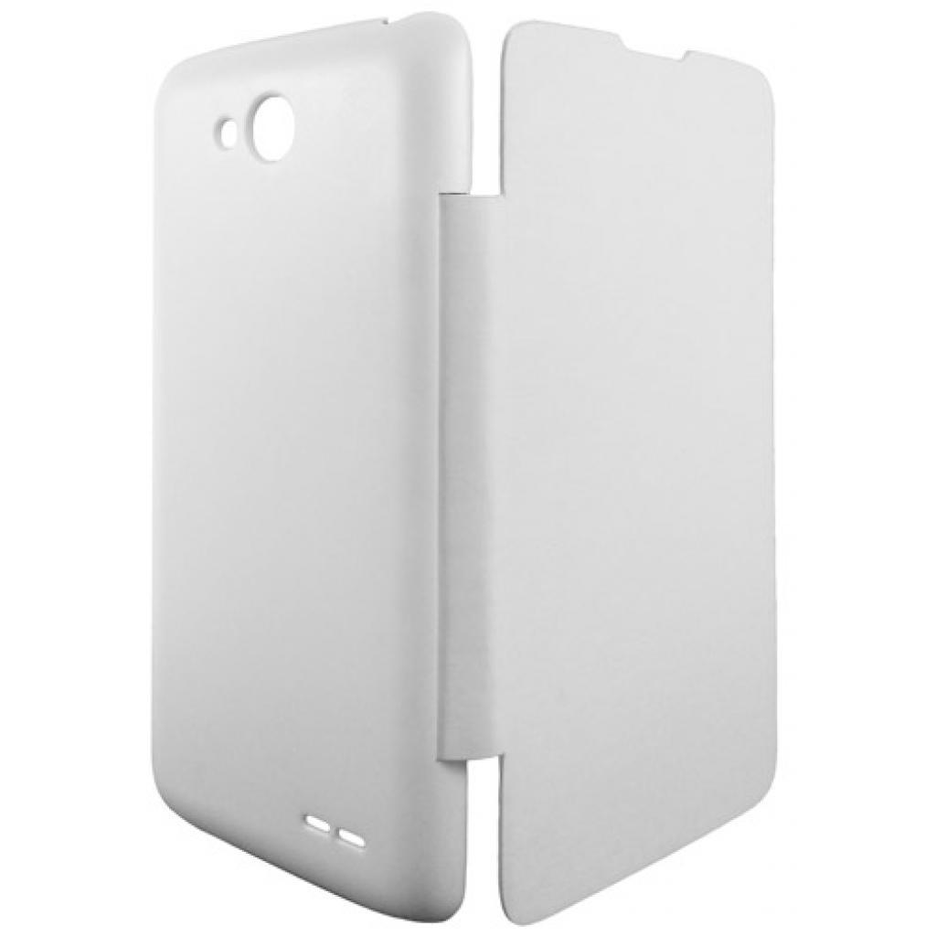 Чехол для моб. телефона GLOBAL для LG D410 L90 Dual (PU, белый) (1283126459252) изображение 2
