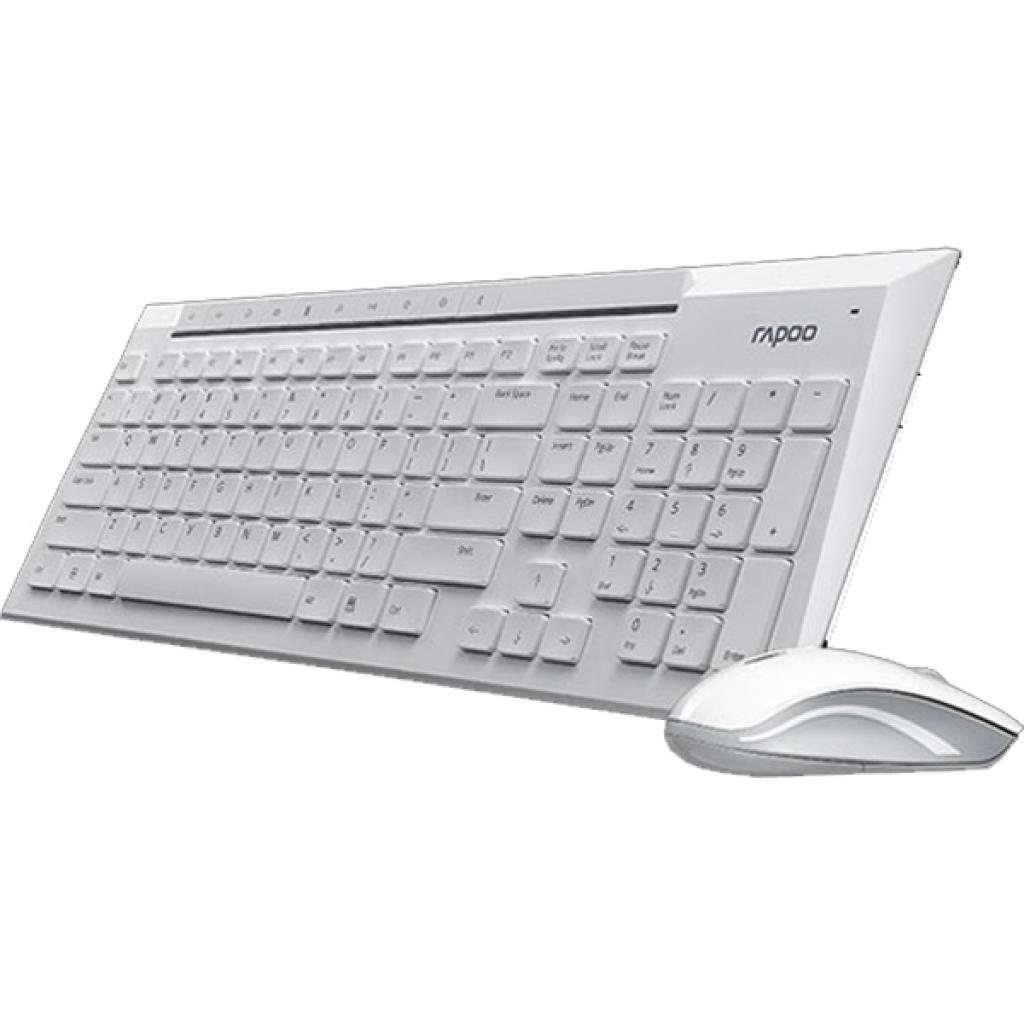 Комплект Rapoo 8200p wireless, White изображение 2