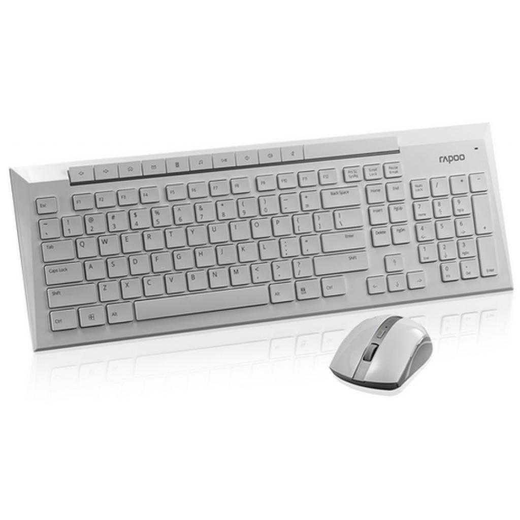 Комплект Rapoo 8200p wireless, White