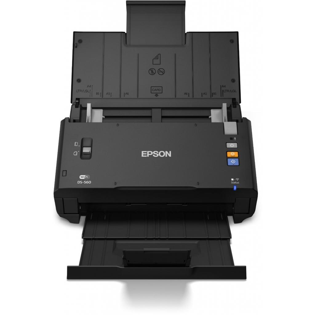 Сканер EPSON WorkForce DS-560 c WI-FI (B11B221401) изображение 3