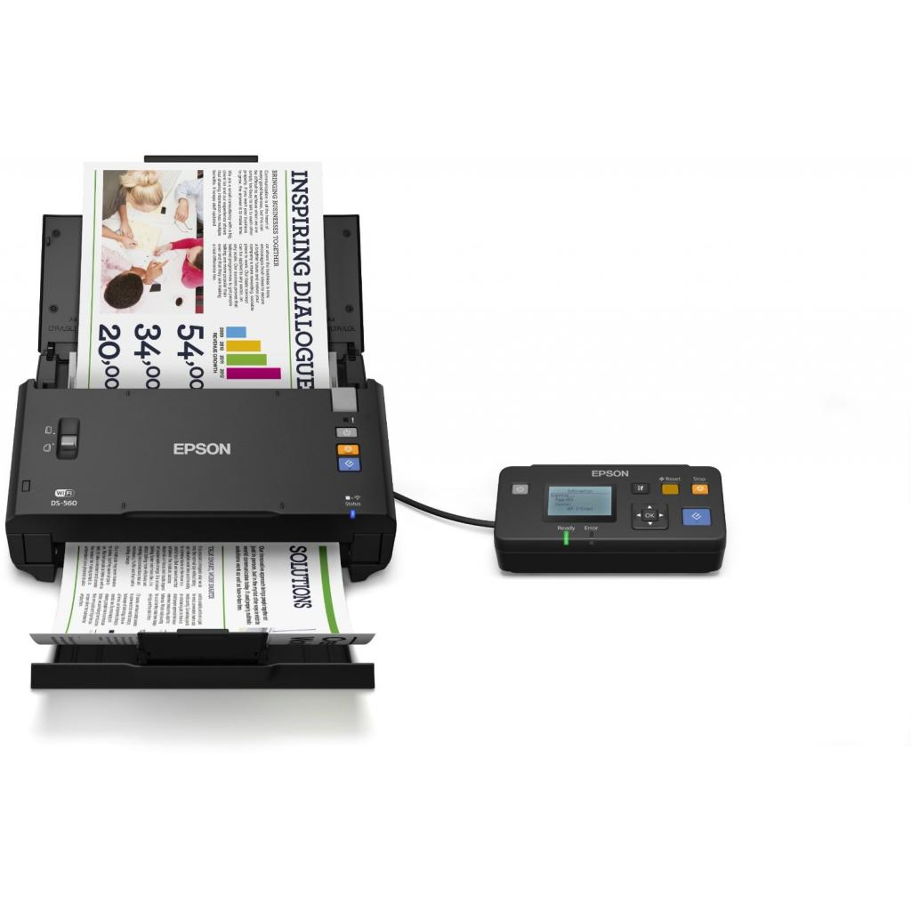 Сканер EPSON WorkForce DS-560 c WI-FI (B11B221401) изображение 6